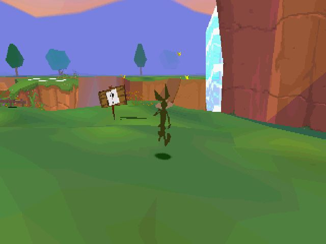 Looney Tunes Racing - Gameplay PSX / PS1 /