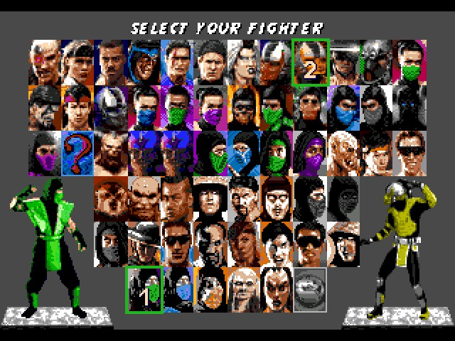 Mortal Kombat Trilogy, Ultimate (eng)