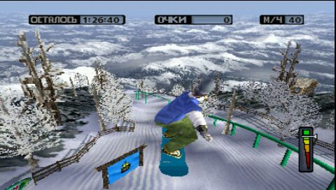 Cool Boarders 4 (psp) (rus) (SCUS-94559)
