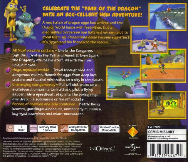 Spyro Year Of The Dragon Greatest Hits Iso File - avasofthotsoft