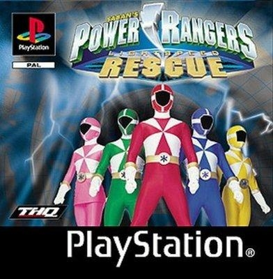 power rangers playstation 1